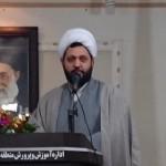 حجه الاسلام والمسلمین استیری امام جمعه فشافویه