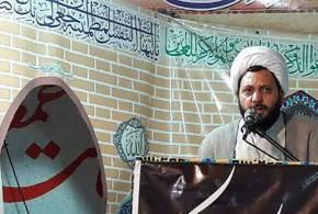 حجت الاسلام والمسلمین استیری امام جمعه باقرشهر: ملت ما راه نفوذ سیاسی آمریکا بر ایران را برای همیشه بسته است
