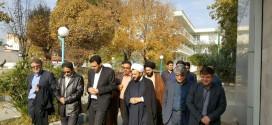 بازدید امام جمعه باقر شهر وفرماندار شهرستان ری،از بیمارستان شهیدهاشمی نژادکهریزک