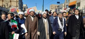 راهپیمایی۲۲ بهمن درباقرشهربرگزارشد