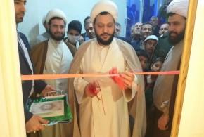 ساختمان فرهنگی مسجد ولیعصر(عج)توسط امام جمعه محترم باقرشهر افتتاح شد