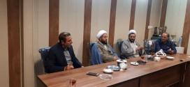 سرکشی امام جمعه محترم حجت الاسلام والمسلمین حاج آقا استیری از اداره ورزش باقرشهر