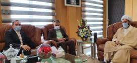 امام جمعه باقرشهر به اتفاق بخشدار کهریزک با شهرداران باقرشهر وکهریزک دیدارکردند