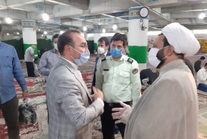 گزارش تصویری نماز جمعه باقرشهر در تاریخ ۲۷تیرماه ۹۹