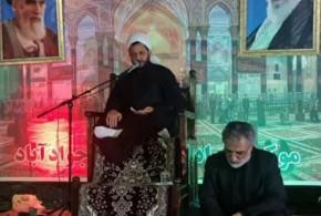 حجت الاسلام والمسلمین استیری در شب شهادت امام رضا در جوادآباد ورامین:مسؤولین !جلو گرانی افسار گسیخته را بگیرید