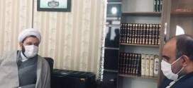 دیدار مدیر کل کمیته امداد استان تهران باحجت الاسلام والمسلمین حاج آقا استیری امام جمعه باقرشهر