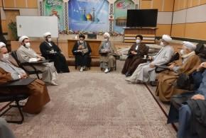 جلسه هم اندیشی علمای شهرستان ری برگزار شد